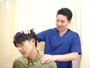 肩こりの検査写真